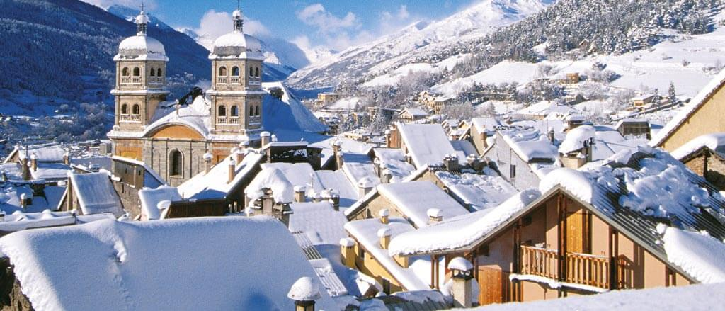 Photo du village de Serre-Chevalier